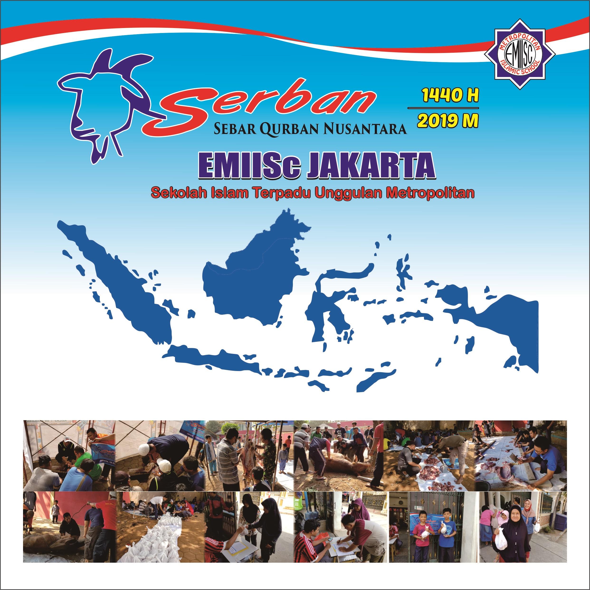 Sebar Qurban Nusantara 1440 H