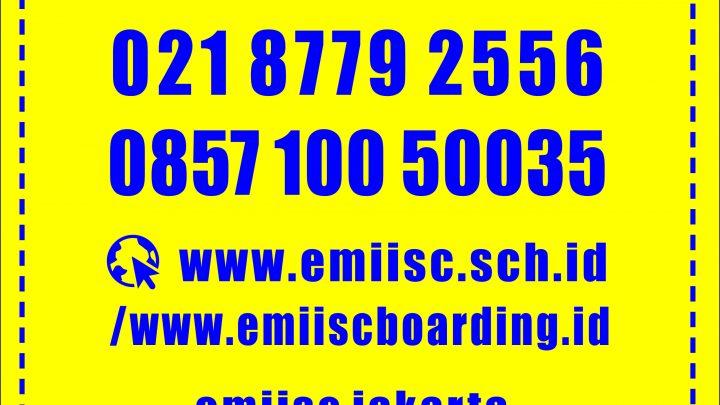 Website Resmi Sekolah EMIISc Jakarta